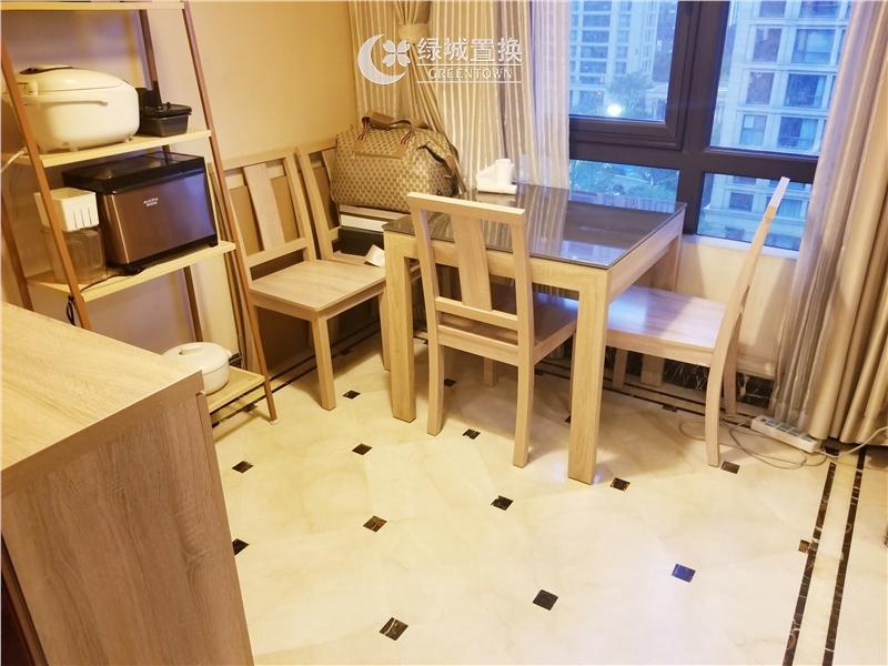 杭州明月江南东区出租房餐厅照片,