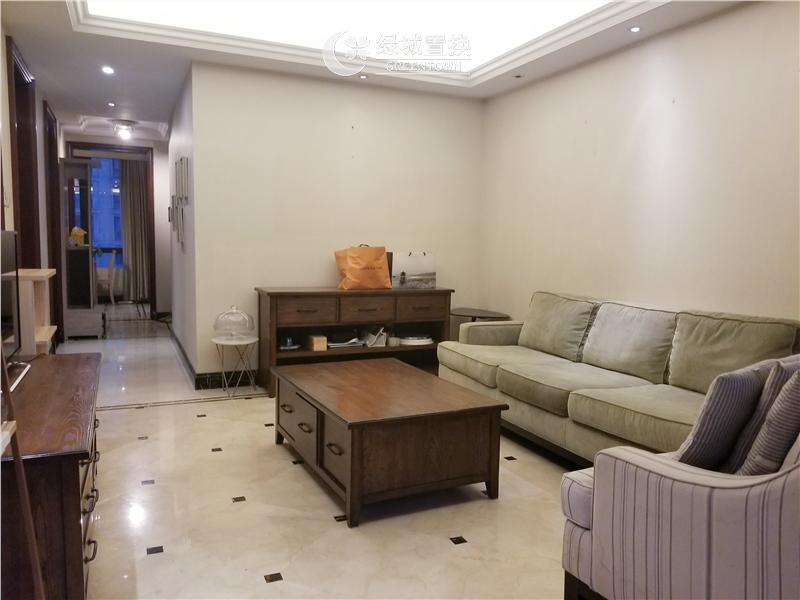 杭州明月江南东区出租房客厅照片,