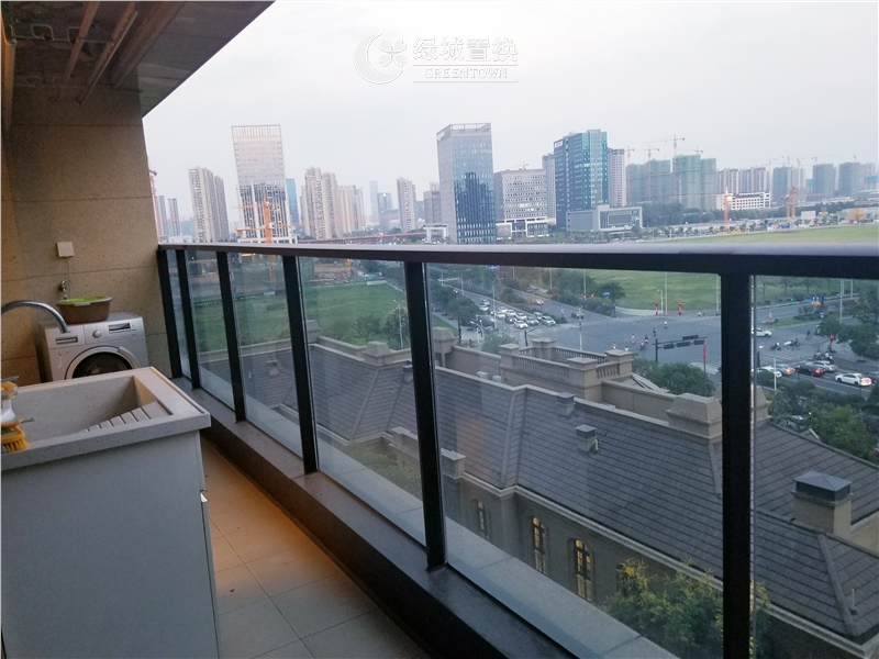 杭州明月江南东区出租房阳台照片,