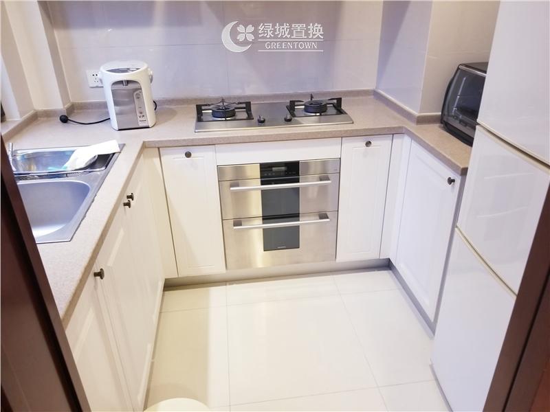 杭州明月江南东区出租房厨房照片,