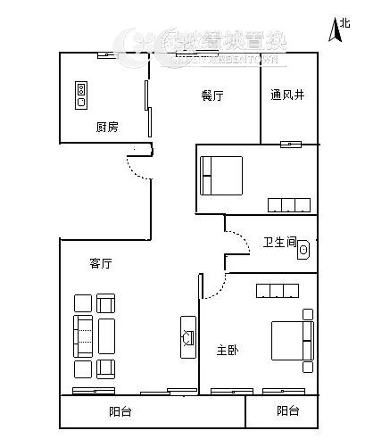 杭州明月江南东区出租房户型图照片,