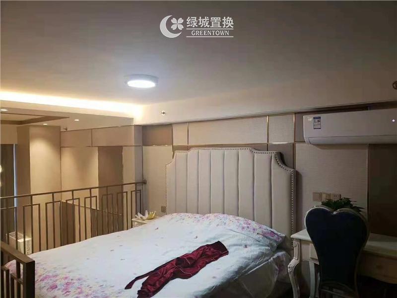 杭州世茂智慧之门出租房房间照片,