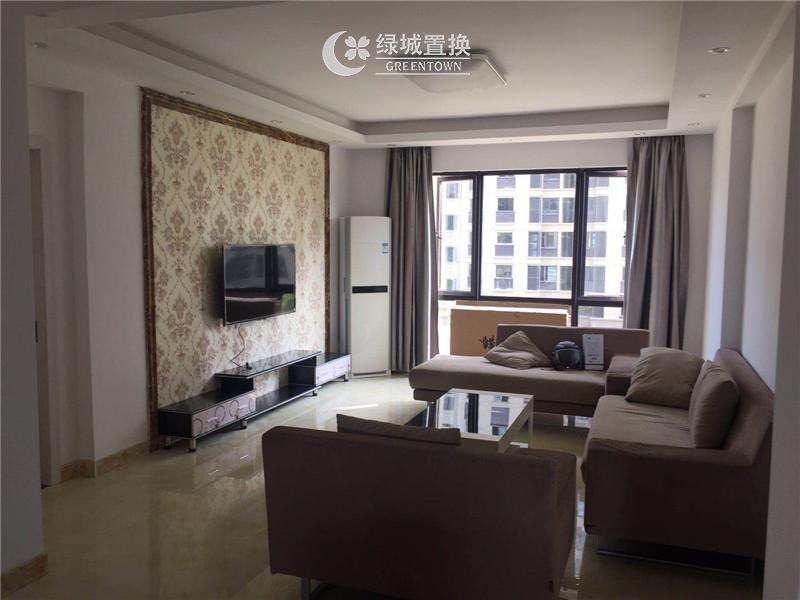 宁波和协风格首岸出租房客厅照片,风格首岸