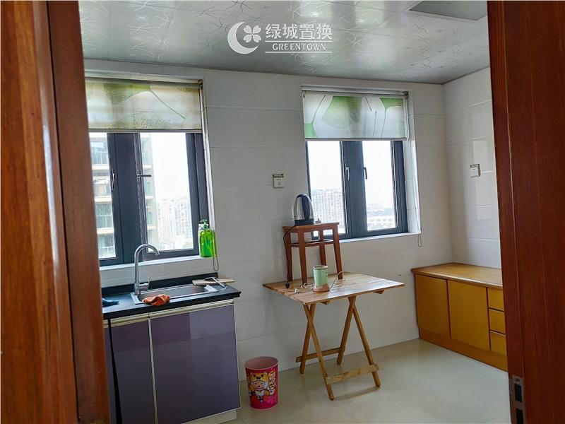 杭州西子海棠出租房厨房照片,