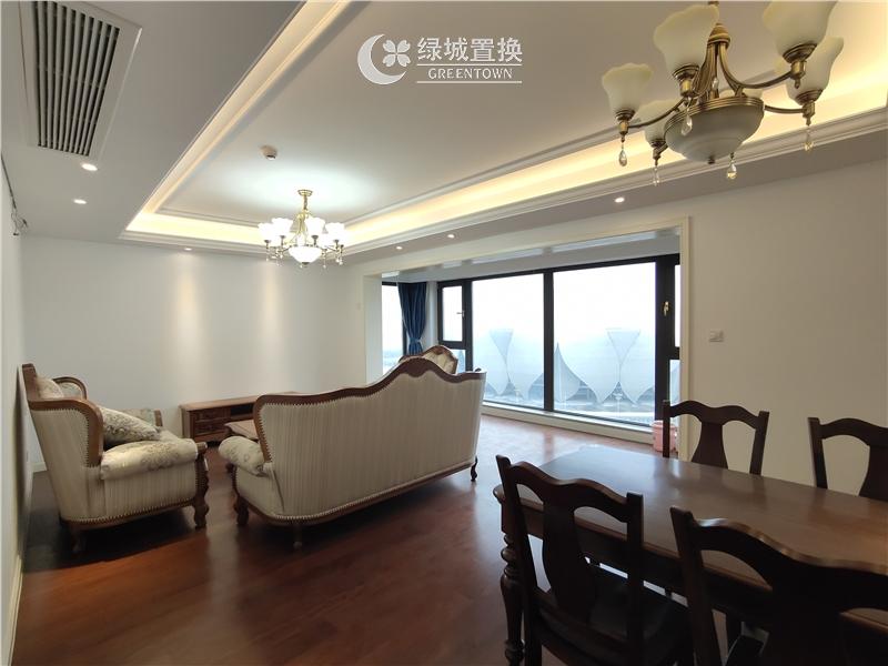 杭州绿地旭辉城出租房餐厅照片,精装修,家具家电齐全,拎包入住