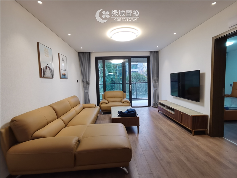 杭州出租房客厅照片,看房方便,中间位置,自住配置家具家电